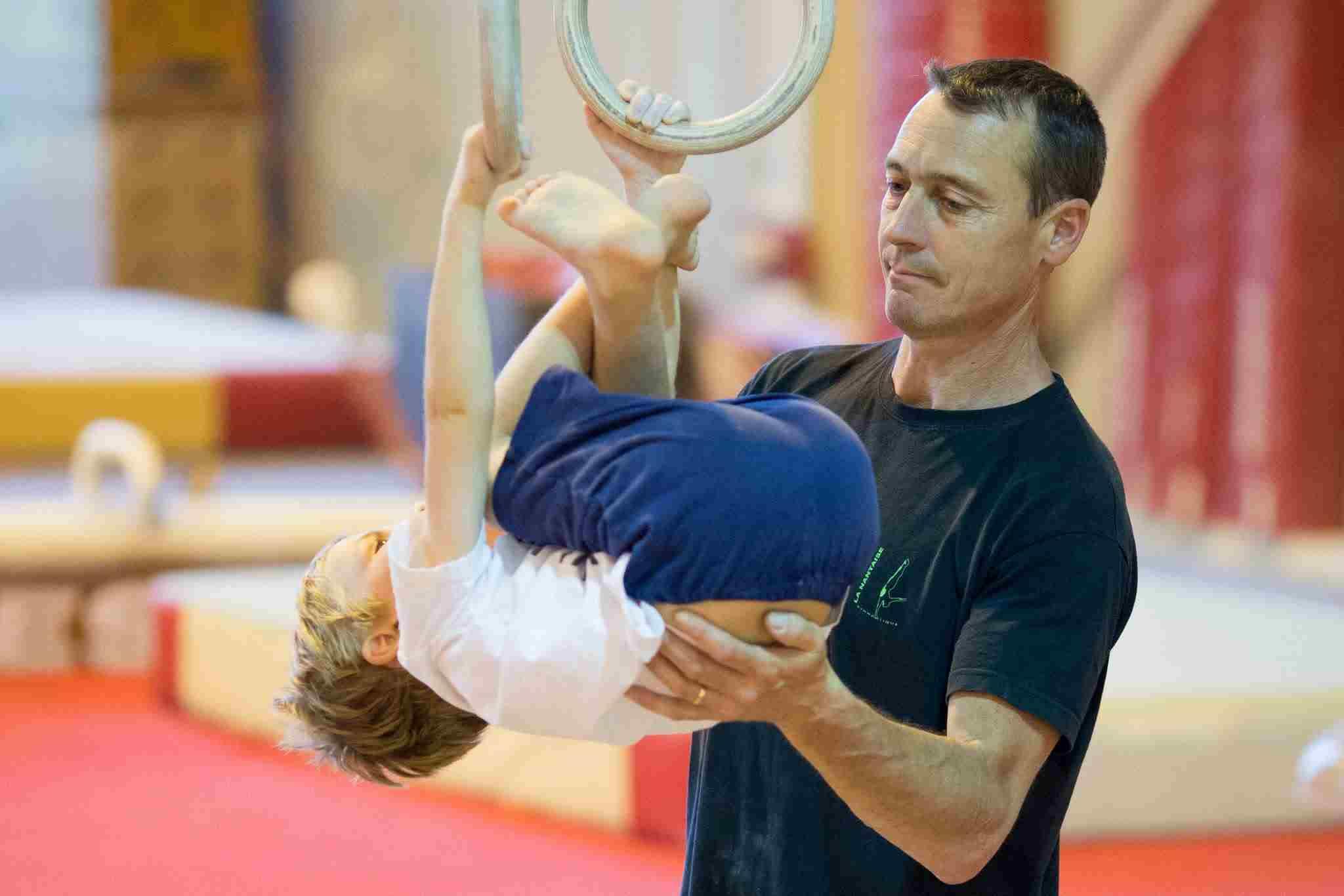 entrainement gymnastique garçon nantes
