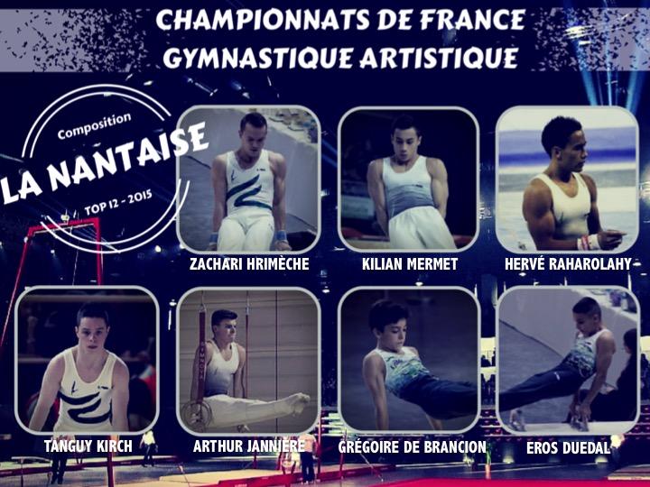 composition La Nantaise TOP 12