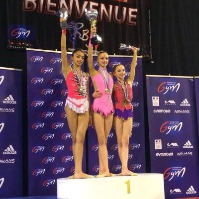 valérie podium Bourgoin Jallieu