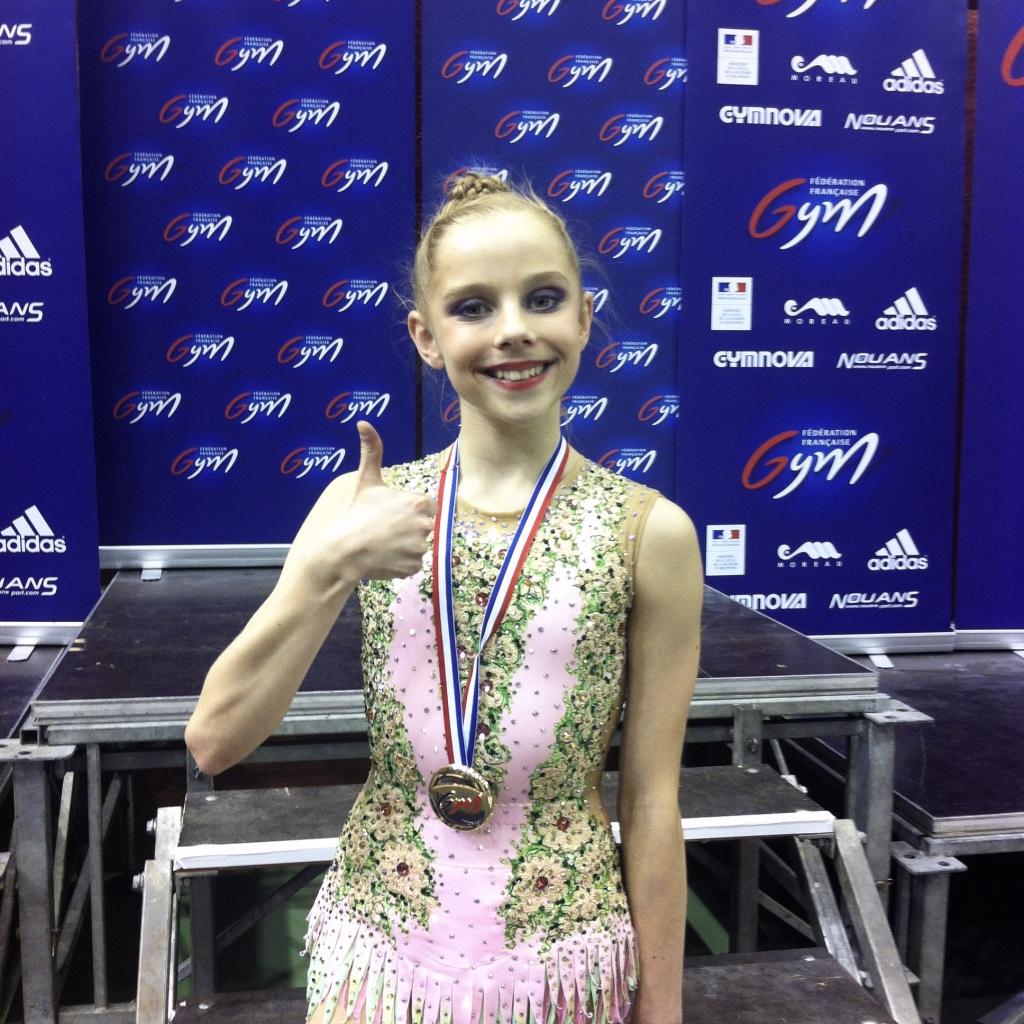 Valérie Romsenki, vainqueur des Coupes Nationales 2015