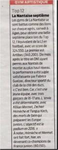 TOP 12 _ La Nantaise 7e