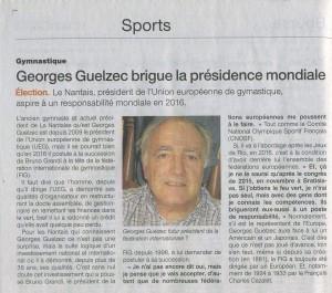Georges Guelzec Brigue la présidence Mondiale